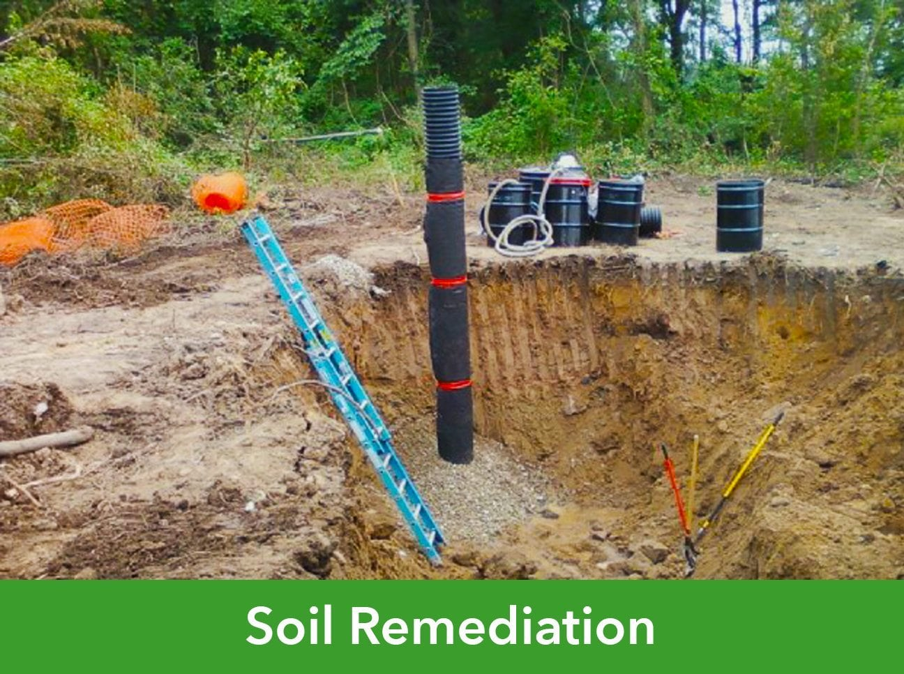 Soil remediation p cg power construction group inc for Soil environment